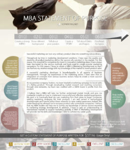 mba statement of purpose sample
