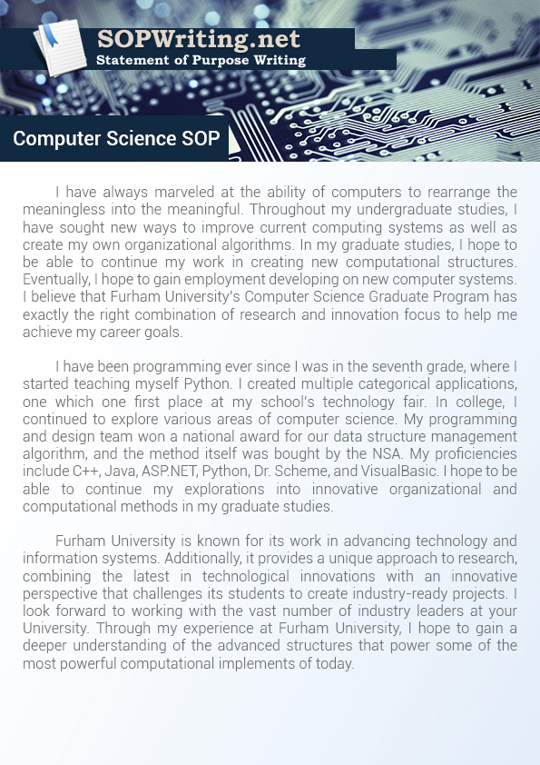 computer engineering personal statement essay We hope our collection of ucas computer science personal statements mathematics and computer science personal statement software engineering personal statement.